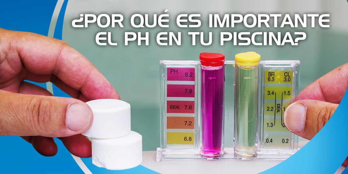 ¿Por qué es importante el pH en el agua de una alberca?