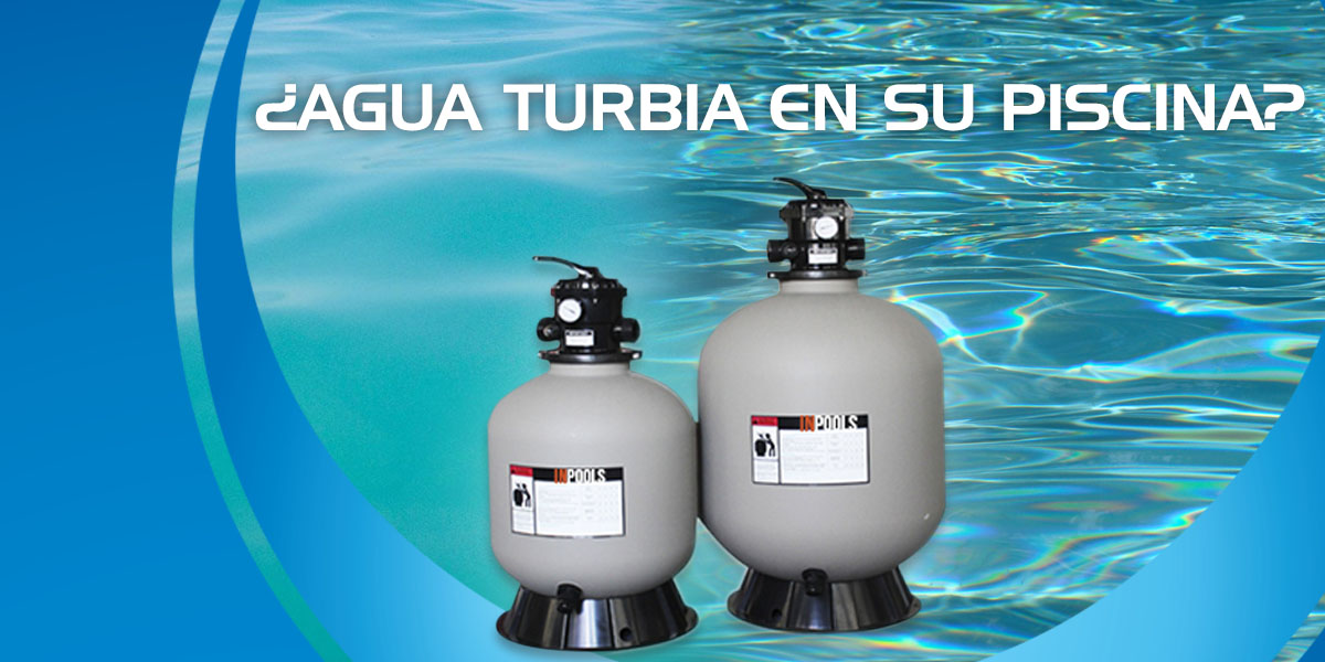 Agua Turbia en Piscinas